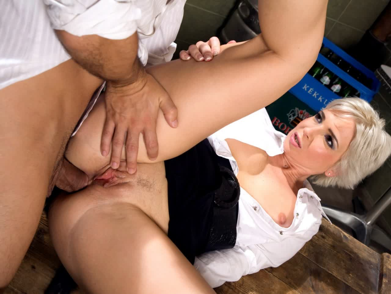 Familystrokes He Slips His Immense Ebony Pipe In Her Taut Pussy HD